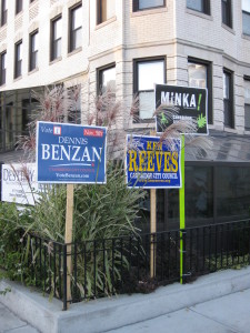 Cambridge Campaign SIgns