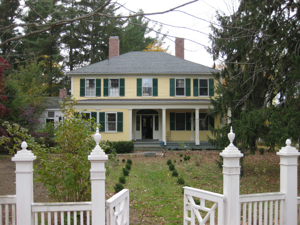 Historic Homeowner Members visited the Alanson Tucker House in Derry NH