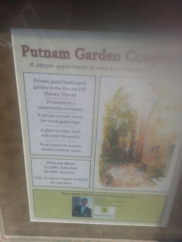Beacon Hill garden shares