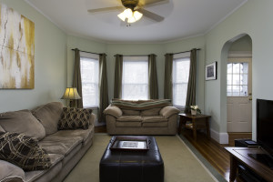 31 Adams Street Somerville MA living room