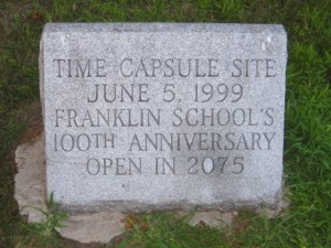 Franklin School Medford time capsule