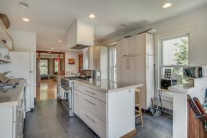 Large, bright renovated kitchen